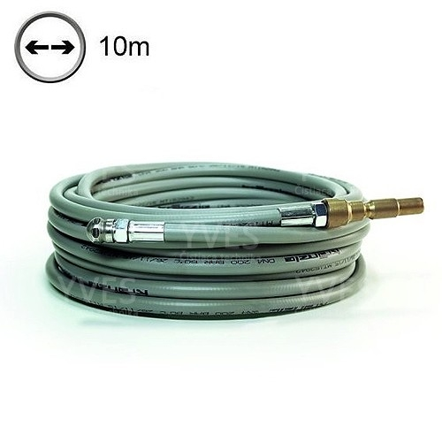 Pipe cleaning hose light, 10 m