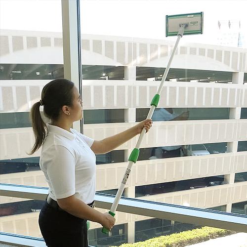 Technika na umývanie okien
