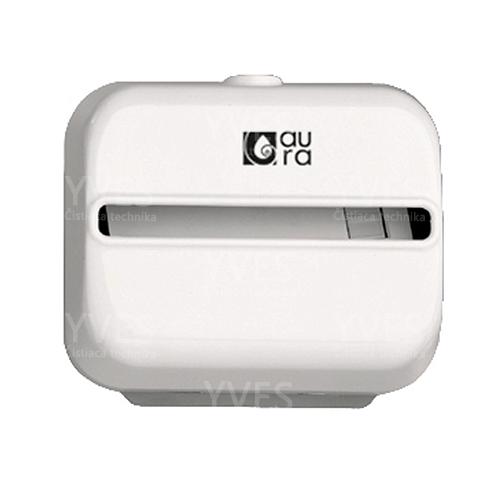 Zásobník na hygienické vrecká Snow line, biely plast
