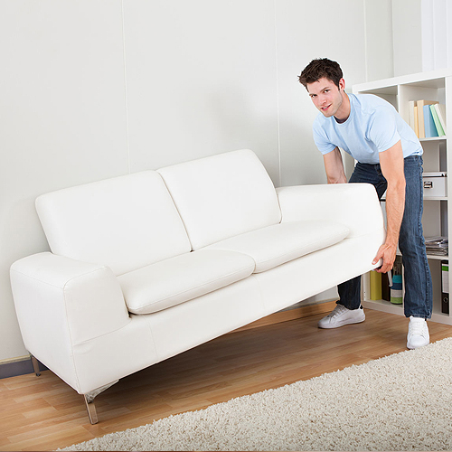 7. Občas presuňte aj nábytok
