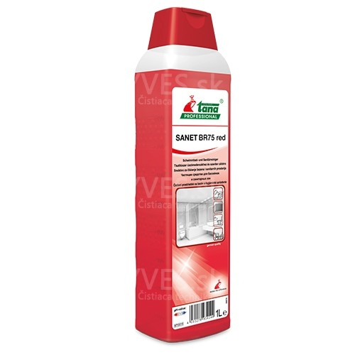 SANET BR 75 red 1l