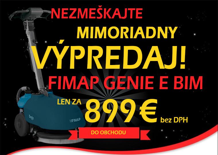 Fimap Genie E BIM - akcia