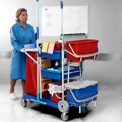 Upratovacie vozíky, mopy, umývanie okien
