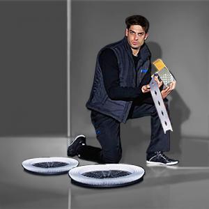 Stieracie gumy a kefy pre umývacie stroje