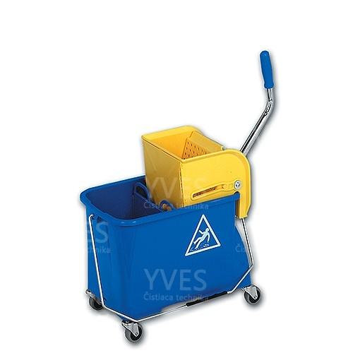 Upratovací vozík MINI 2 x 8 l plast