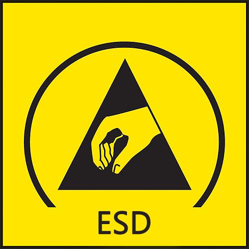 ESD antistatické prevedenie