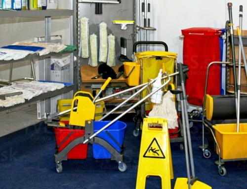5 zásad, ako si udržať prehľad vo vybavení na čistenie