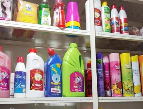 Koľko čistiacich prostriedkov naozaj potrebujete?