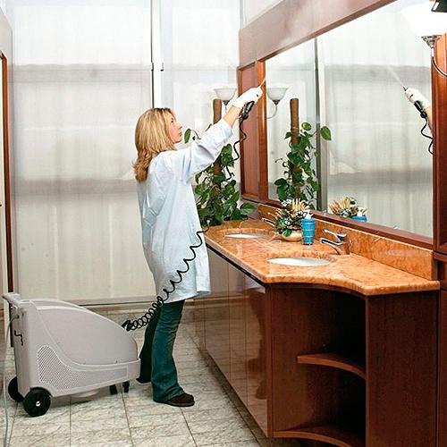 Stroje na dezinfekciu povrchov