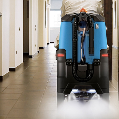 Stroje na dezinfekciu podláh